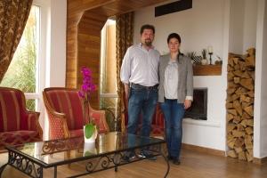 Beata Bajan und Genco Cibiroglu - Geschäftsführer Seniorendomizil beim Plattensee